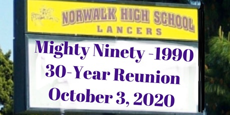 Norwalk High 1990 30-Year Reunion tickets