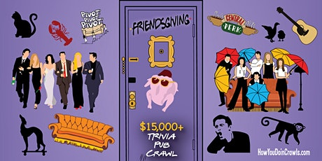 Portland - Friendsgiving Trivia Pub Crawl - $15,000+ IN PRIZES! tickets