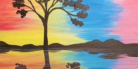 Online and LIVE!!! Paint with others this beautiful Spring Painting tickets