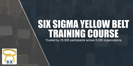 Six Sigma Yellow Belt Training Course Webinar tickets