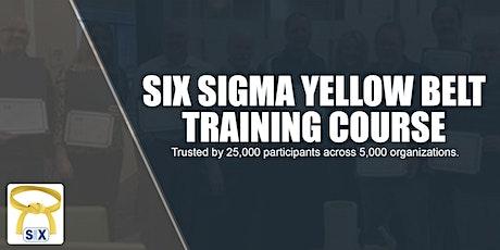 Six Sigma Yellow Belt Training Course tickets