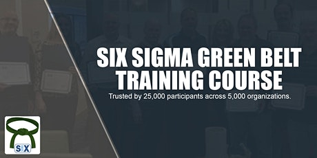 Six Sigma Green Belt Training Course Webinar tickets