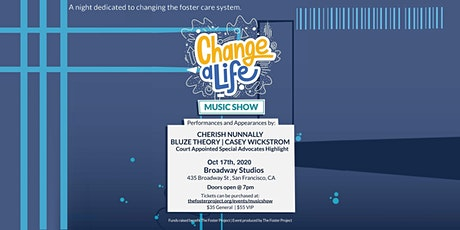 Change A Life Music Show tickets