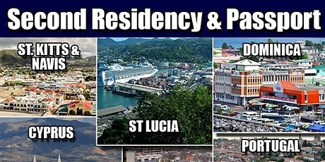 Virtual Event - Second Citizenship & Residence Programs - Meet Authorized Ambassadors tickets