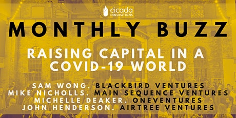 MONTHLY BUZZ: Raising Capital in a COVID-19 World [Webinar] tickets