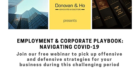 Employment & Corporate Playbook: Navigating COVID-19 tickets