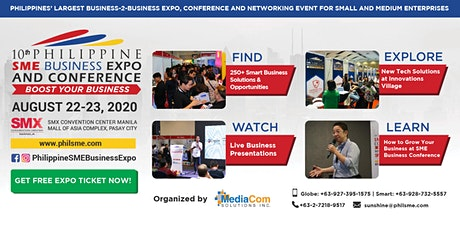 10th Philippine SME Business Expo & Conference tickets