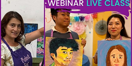 Painting Partners (Online Paint & Sip Class) tickets