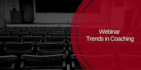 Webinar Trends in Coaching tickets
