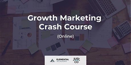 Growth Marketing Crash Course (Live Streaming) tickets