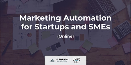 Marketing Automation for Startups and SMEs (Live Streaming) tickets