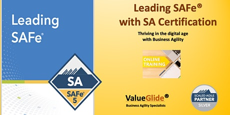 Leading SAFe 5.0 Weekend April 11-12 Singapore - VIRTUAL tickets