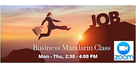 Online Business Mandarin Class tickets
