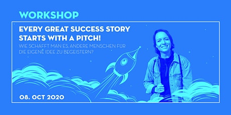 Startup Workshop: Every great success story starts with a pitch! Tickets