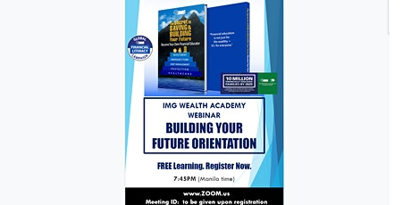 ONLINE FINANCIAL SEMINAR: Building Your Future, April 8, Wednesday, 7:45PM tickets