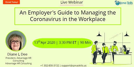 An Employer's Guide to Managing the Coronavirus in the Workplace tickets