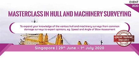 Masterclass in Hull and Machinery Surveying tickets