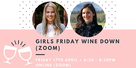 Girls Friday Wine Down (Zoom) tickets