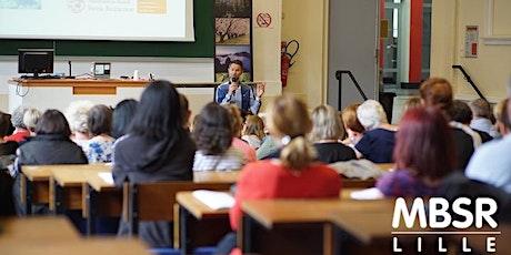 EN LIGNE Conférence MBSR  Réduction du stress basée sur pleine conscience tickets