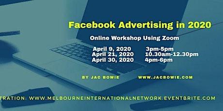 Facebook Advertising in 2020 (Online Workshop) tickets