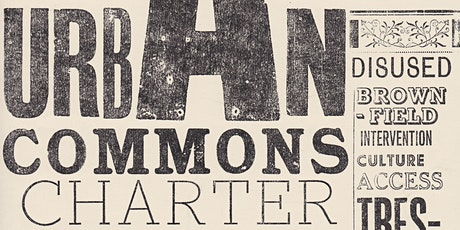 Towards an Urban Commons Charter - Online Network tickets