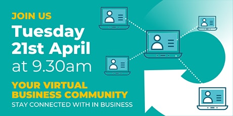 Virtual Business Community on-line event tickets