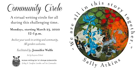"""Community Circle: """"We Are All In This Story Together"""" (Ongoing) tickets"""