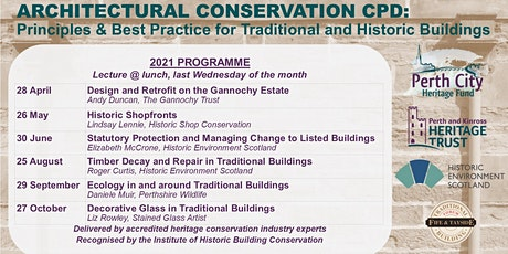 Architectural Conservation CPD 2021: Principles & Best Practice tickets