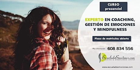 Charla informativa online del Curso Experto en Coaching y Mindfulness tickets