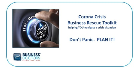 Don't Panic, Plan It, Business Rescue Toolkit  tickets