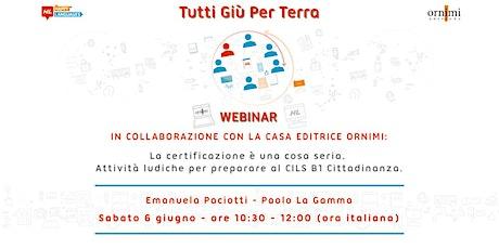 Webinar Per Insegnanti di Italiano biglietti