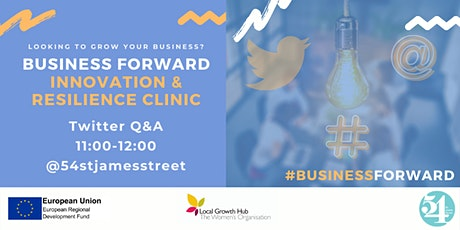 Twitter Q&A - Business Forward: Innovation & Resilience tickets