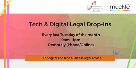 Tech & Digital Legal Drop-ins (Muckle LLP) tickets