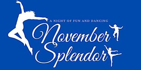 November Splendor tickets