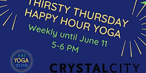 Thirsty Thursday Happy Hour Yoga