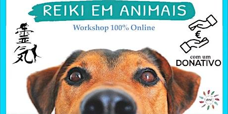 Reiki em Animais de Estimação - Online tickets