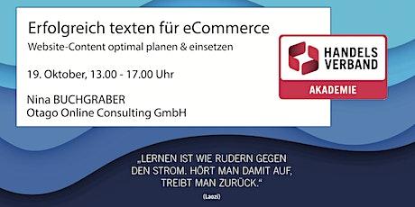 SEMINAR Erfolgreich texten für eCommerce  Tickets