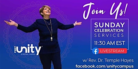 Sunday Celebration Service from First Unity Spiritual Campus tickets