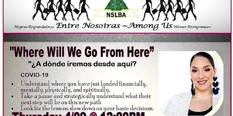NSLBA - Where Will We Go From Here? Webinar tickets