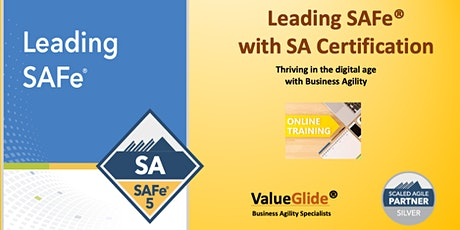 Leading SAFe 5.0 ,  Weekend course 30-31 May,  Bangalore, India - VIRTUAL tickets