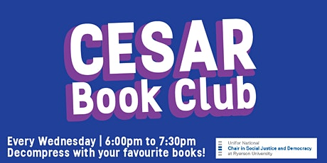 CESAR Book Club tickets