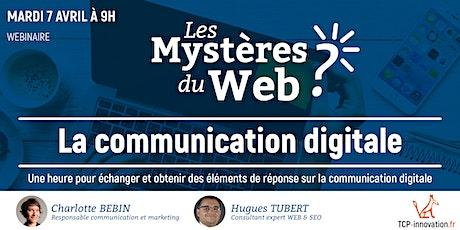 1h pour tout savoir sur la communication digitale #Lyon   TCP innovation billets