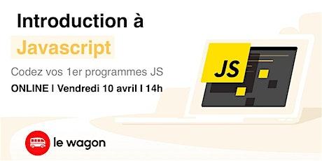 Webinar - Introduction à Javascript tickets