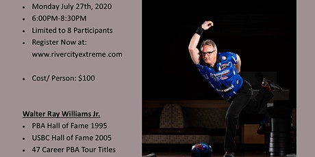 Walter Ray Williams JR. Bowling Clinic tickets