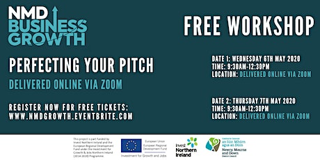 Perfecting your Pitch - Free Workshop (Second Date) tickets