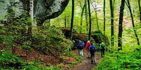 """Fr,10.07.20 Wanderdate """"SingleReise Müllerthal Trail Luxemburger Schweiz ab 40J"""" tickets"""