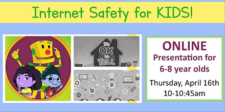 Netsmartz: Internet Safety Workshop for Kids Aged 6-8 tickets