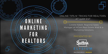 Online Tips and Tricks for REALTORS tickets