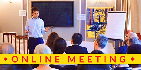 Public Speaking/Presenting/Networking at the London Olympians Toastmasters tickets