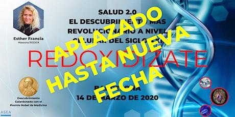 SALUD 2.0, EL DESCUBRIMIENTO MÁS REVOLUCIONARIO DEL SIGLO XXI (BARCELONA) tickets